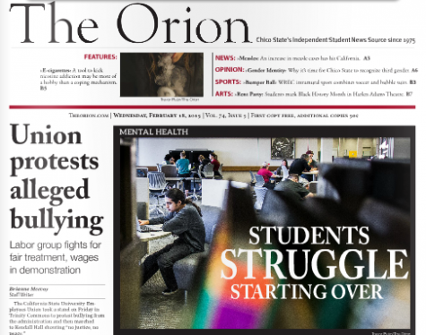 The Orion Vol. 74, Issue 5