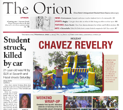 The Orion Vol. 74, Issue 10