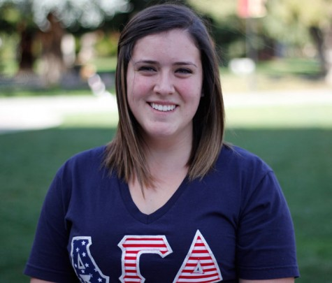 Amanda Lincoln, a senior criminal justice major, wants to follow in her family