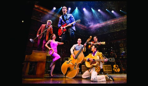 The cast of Million Dollar Quartet on their national tour. Photo courtesy of Chico Performances.