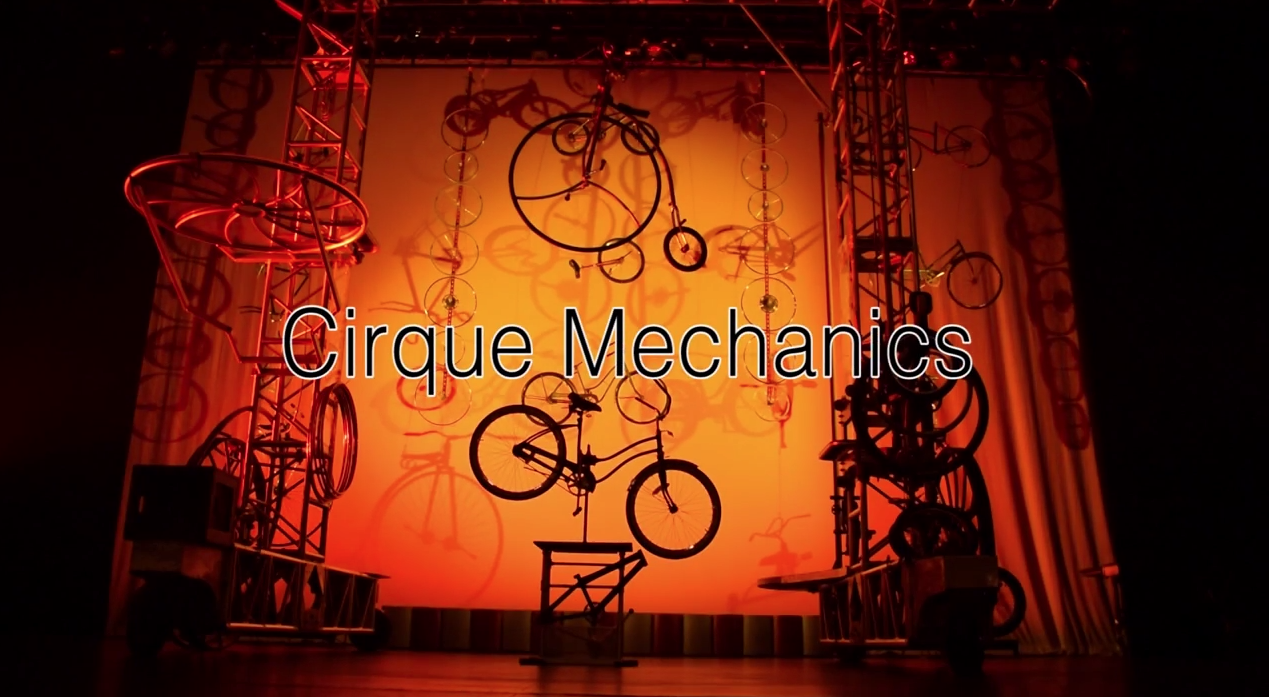 Cirque Mechanics took a place a t Laxon Theater