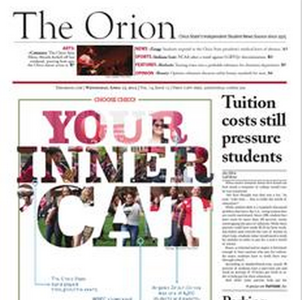 The Orion Vol. 74, Issue 12