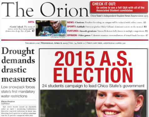 The Orion Vol. 74, Issue 11