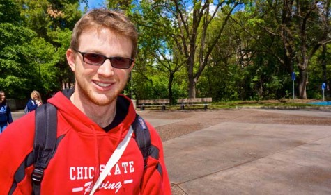 Humans of Chico State: Study abroad