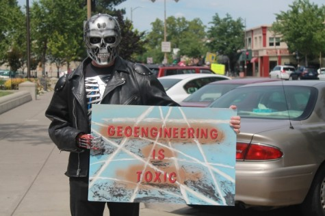Citizens protest climate engineering