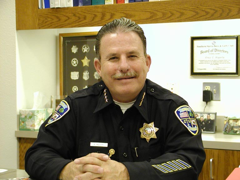 Retired Chico Police Chief Bruce Hagerty is stepping in as interim chief of the University Police while the search for a permanent replacement continues. Photo courtesy of Bruce Hagerty.