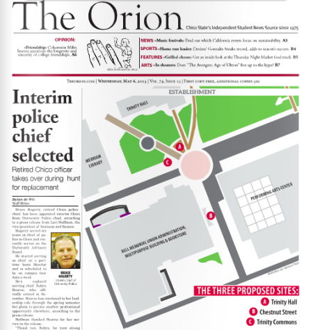 The Orion Vol. 74, Issue 15