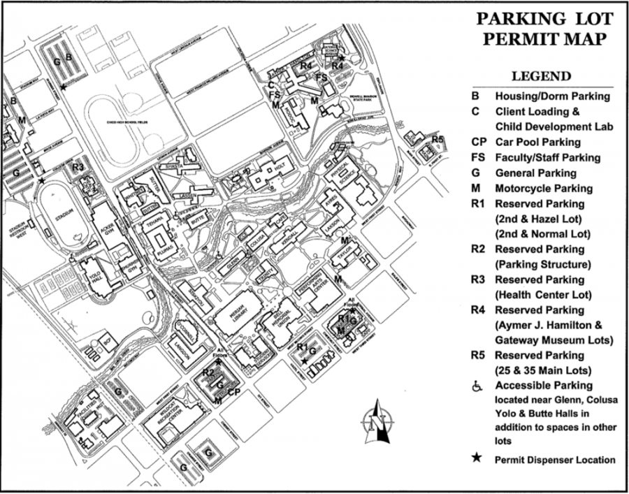 Campus Parking Hassles Students The Orion