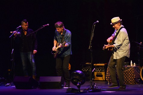 John Hiatt and his bandmates rock the stage on Friday, Sept. 11. Photo credit: Sara-Elizabeth Whitchurch