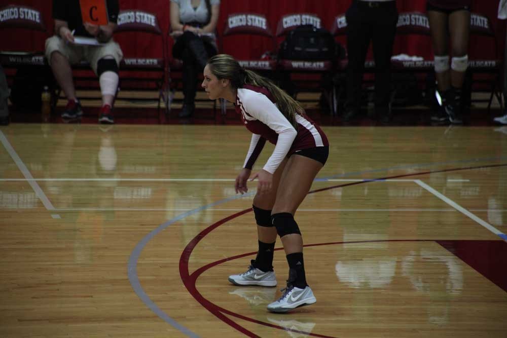 Olivia Mediano of the Chico State Wildcats.