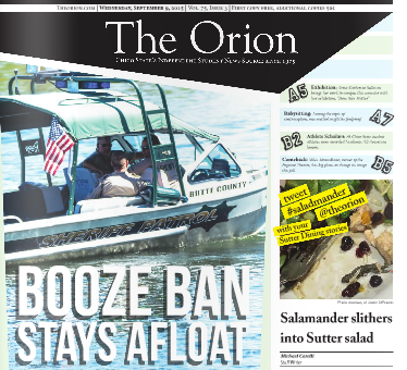 The Orion Vol. 75, Issue 3