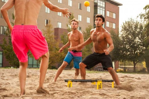 Spikeball here to stay with students