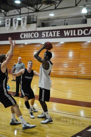 Jesse's journey: Football to Chico State men's basketball