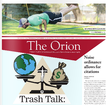 The Orion Vol. 75, Issue 12