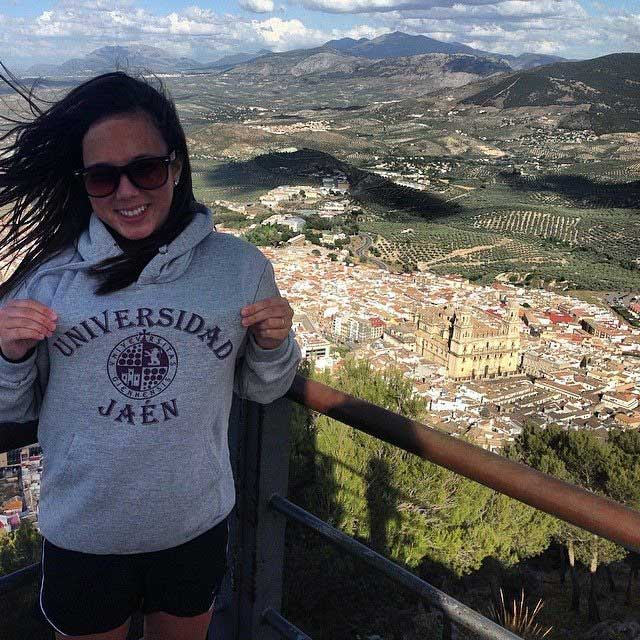Jessica Vazquez, senior agricultural business major, said studying abroad was one of the best decisions that she ever made. Photo courtesy of Jessica Vasquez.
