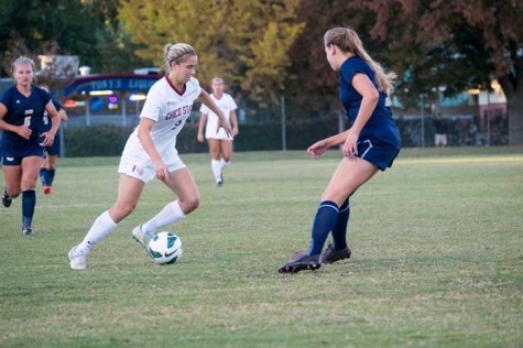 Women's soccer team CCAA title hopes cut short in first round of playoffs