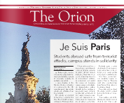 The Orion Vol. 75, Issue 13