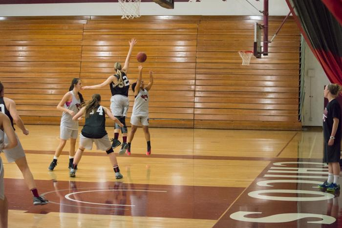 The+Chico+State+women%27s+basketball+team+beat+Saint+Martins+76-59.+Photo+credit%3A+Alicia+Brogden