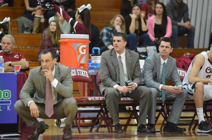 Head+coach+Greg+Clink+enters+his+eighth+year+as+the+head+coach+for+the+Chico+State+Wildcats.+Photo+credit%3A+Caio+Calado