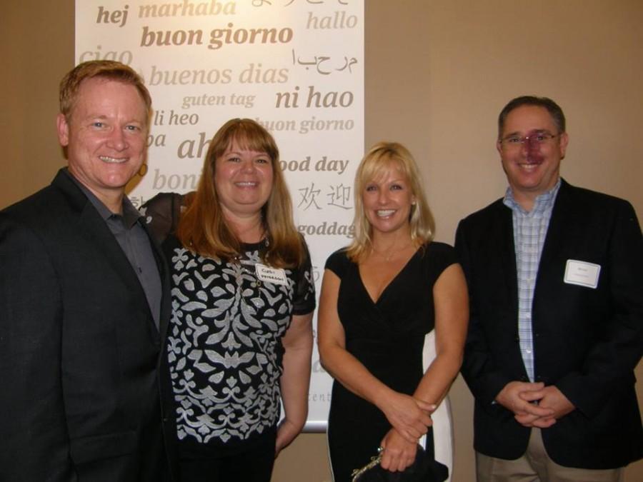 Darren Peterson, Cindi Sellinger Peterson, Karen Cornwell, and William Fort