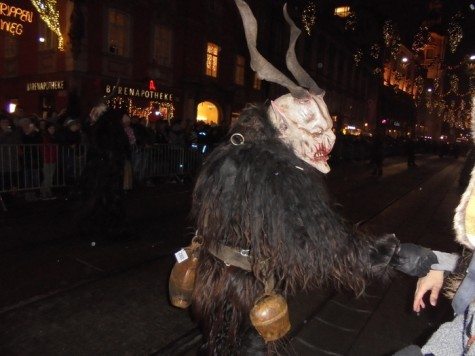 Krampus replaces Santa Clause in German holiday tradition