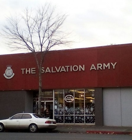 Attempted robbery at Salvation Army