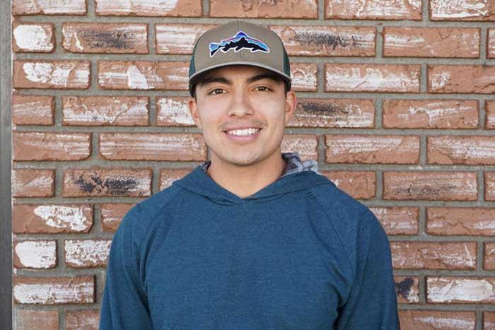Senior second baseman Andrew Carrillo. Photo credit: Carlos Islas