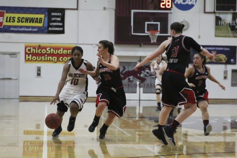 Women's basketball team hits bump in the road over break