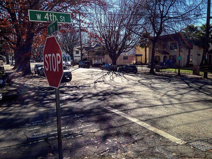 A woman was almost kidnapped on Ivy Street early sunday morning. Photo credit: George Johnston