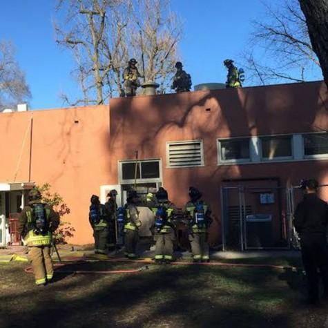Fire starts in children's center