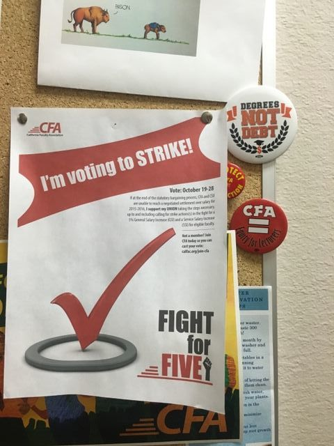Flyer+found+in+Trinity+Hall+encouraging+students+and+faculty+to+participate+in+the+strike.+Photo+credit%3A+Elizabeth+Helmer