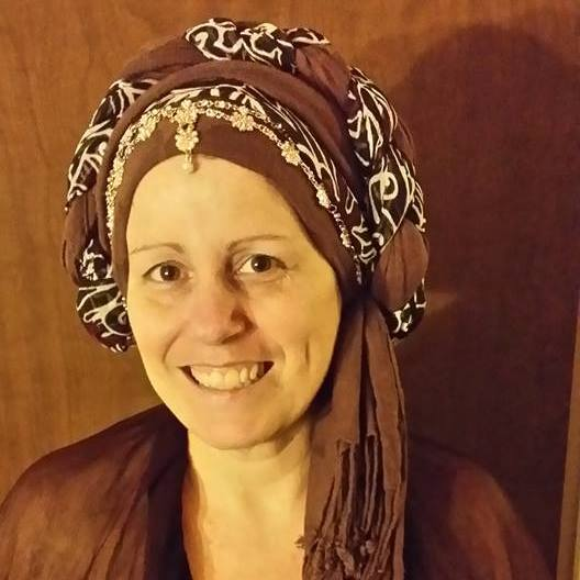 Tova Love, president of RDA, embraces religious tolerance and wraps her hair in a tichel full time to better understand its impact. Photo courtesy of Tova Love