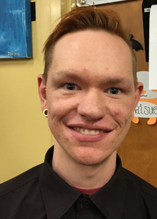 Austin Johnson, a graduate social work student, said diversity advocacy helps people feel empowered. Photo credit: Christine Zuniga