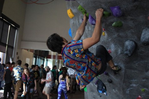 Rock climbing team grows with open arms