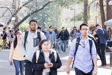 Part of the school's plan is to have the number of black undergraduates reflect California's demographics. Photo credit: Ryan Corrall