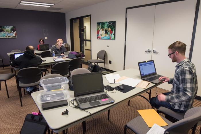 Student+volunteers+prepare+taxes+for+Chico+State+and+other+residents.+Photo+credit%3A+Ryan+Corrall