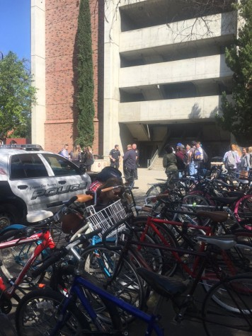 Students evacuated from Butte Hall
