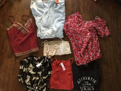 I was able to buy all of these for $18.50, seven items for under $20. Photo credit: Carly Plemons