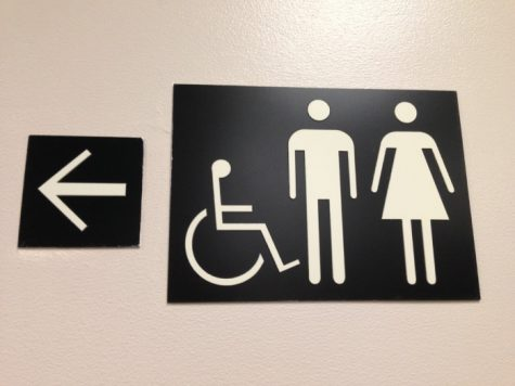 At Target stores, customers can use the restroom or fitting room of any gender they feel matches their identity. Photo credit: Michelle Zhu