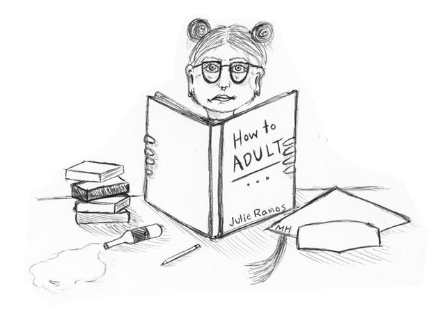 The next Adulting 101 workshop will be held on April 14. Illustration by Madison Holmes.