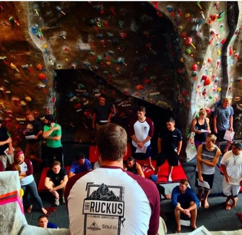 WREC hosts annual climbing competition