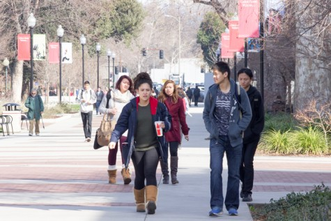 One of several initiatives to diversify Chico State includes increasing Hispanic enrollment. The university can now apply for specific grants as an HSI. Photo credit: Ryan Corrall