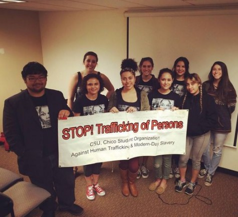 Students raise awareness of human trafficking issue