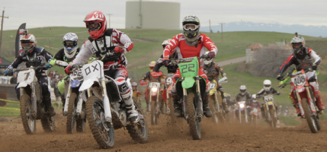 Chico State Dirt Riders team competes against stiff competition. Photo credit: Jacob Auby