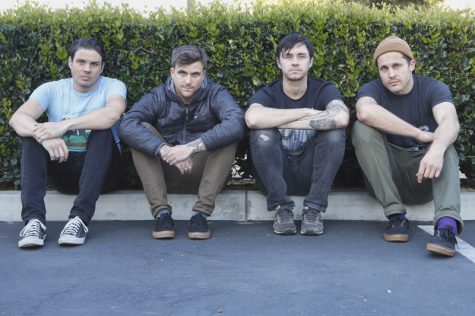 Promotional photo from Saosin. Photo credit: Brandon Sloter