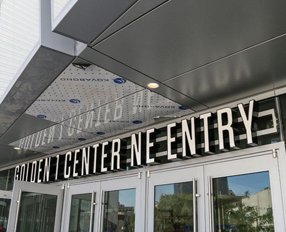 Northeast entry at Golden 1 Center Photo credit: Courtesy of Golden 1 Center