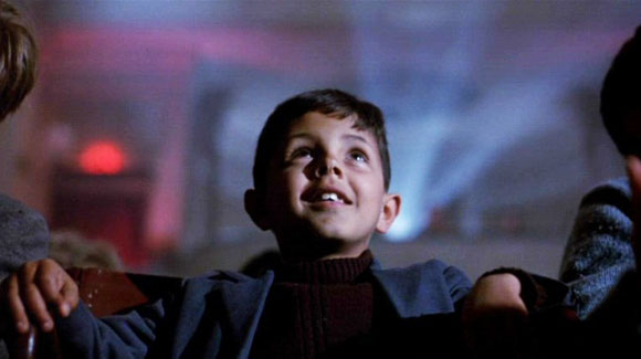 Screen Shot from Cinema Paradiso (Miramax)