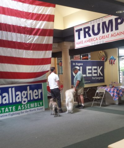 Republican victory office opens in Chico, greeted with protests
