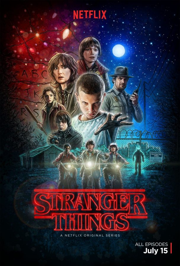 Netflix show Stranger Things gives retro vibes