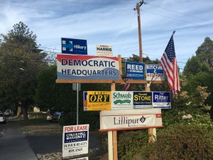 Democratic campaign headquarters opens in Chico